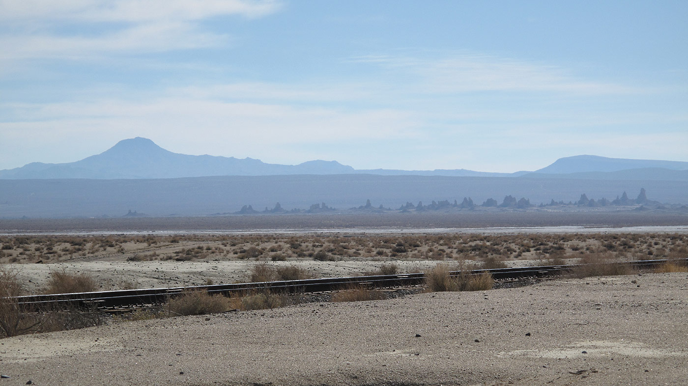 Trona Pinnacles At Journey To The Center